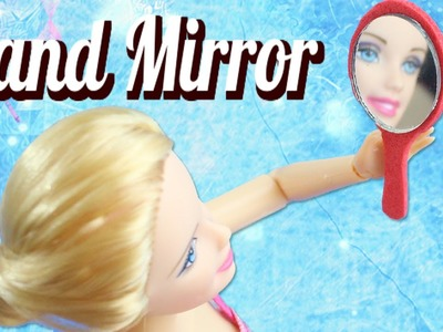DIY Miniature Hand Miror - Easy doll Crafts [New Format]