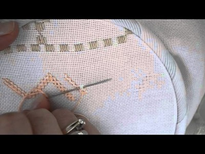Double cable stitch.