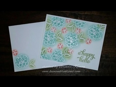 Easy Embossed card Sale-a-bration 2016