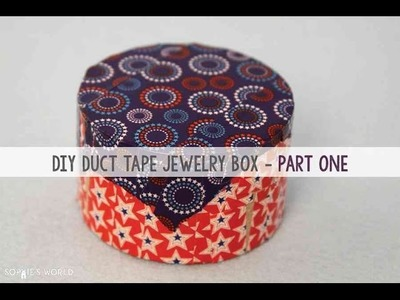 End of the Roll Jewelry Box - Part 1 - The Bowl|Sophie's World