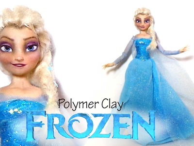 Frozen; Elsa Inspired (Poseable) Doll - Polymer Clay Tutorial