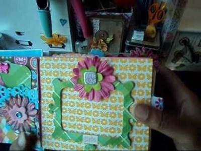Girly Girl Paper Bag Mini Album