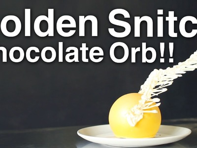 Harry Potter Golden Snitch Chocolate Orb!!