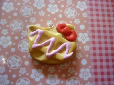 Hello Kitty waffle-Squishy inspired collab with xoxRufus