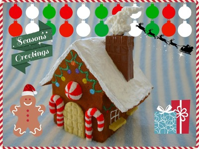 Homemade Squishy Ginger Bread House :D HAPPY HOLIDAYS!