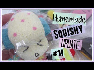 Homemade Squishy Update #1