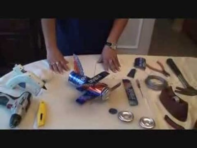 How to build a plane from aluminum SWA cans of water