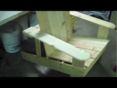 How to Build Cheap Adirondack Chair Idiots Guide to Wood Working