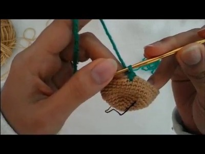 How to change color yarn in work Round