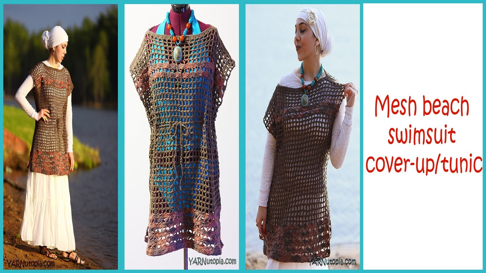 Crochet Swimsuit Cover Up Pattern Amazing Design