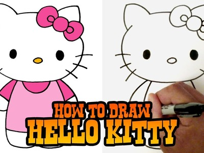 How to Draw Hello Kitty - Step by Step Video