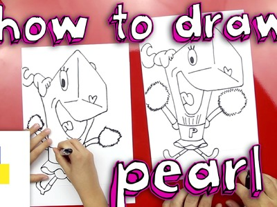 How To Draw Pearl From SpongeBob