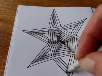 How to draw tanglepattern Auraknot