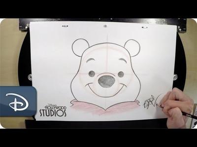 How-To Draw Winnie The Pooh | Walt Disney World
