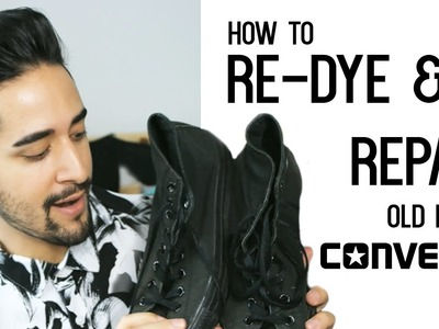 How To Dye And Repair Black Converse - Men's Fashion And Style ✖ James Welsh