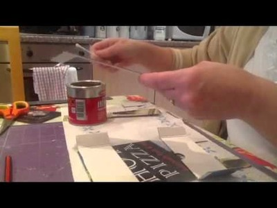 How to make a chimney breast for your dollhouse