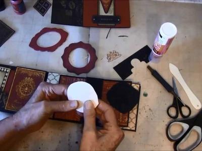 How to make a Double Envelope Mini Album part 2b