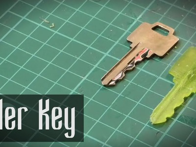 How to Make a Key From a Ruler