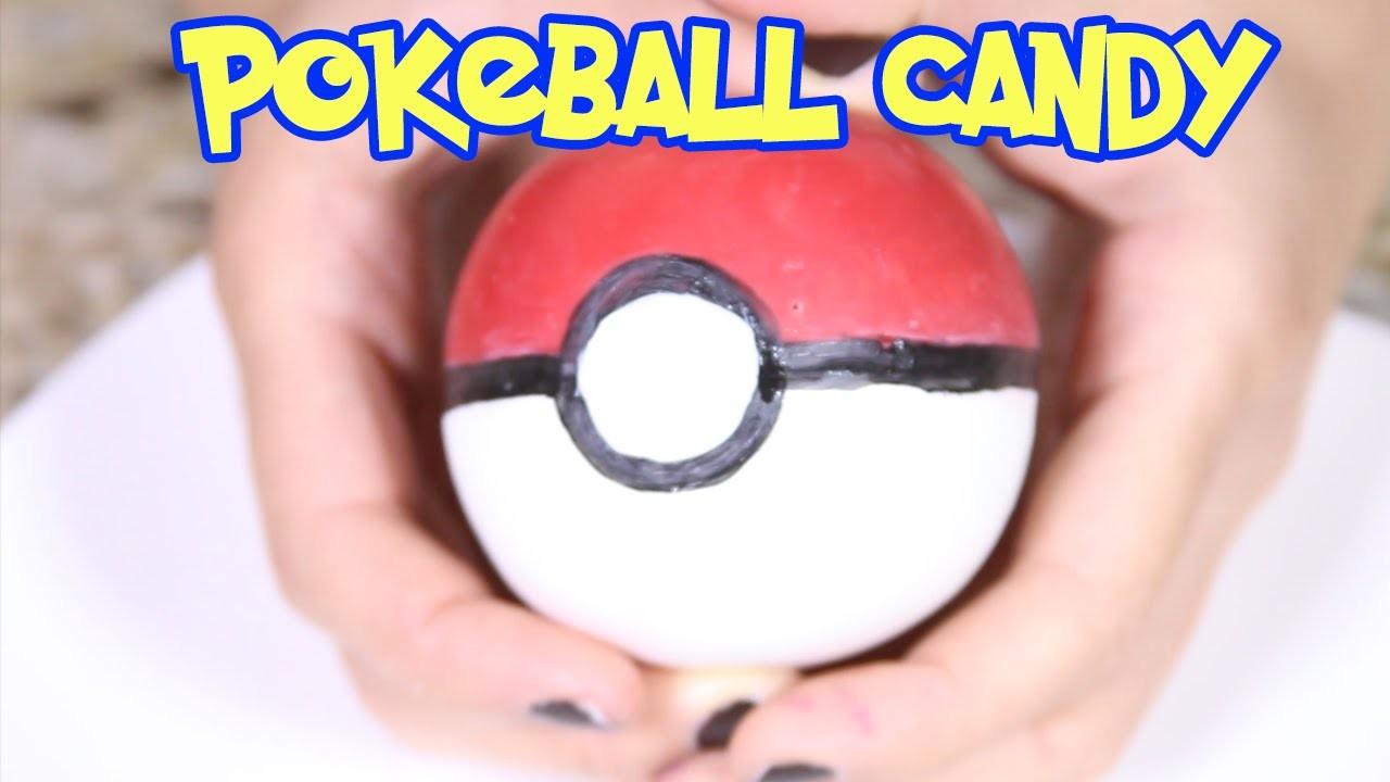How To Make a Pokeball Candy ♥