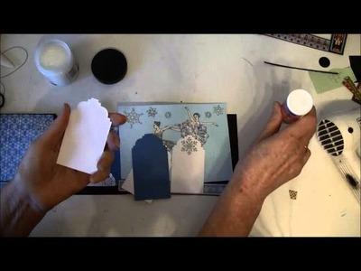 How to make a slider pop up mini album tutorial part 8