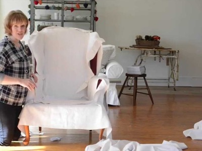 How to make a slipcover | part 2 | cutting the fabric