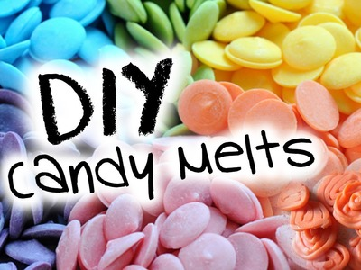 How to make Candy Melts at home (DIY Candy Melts)