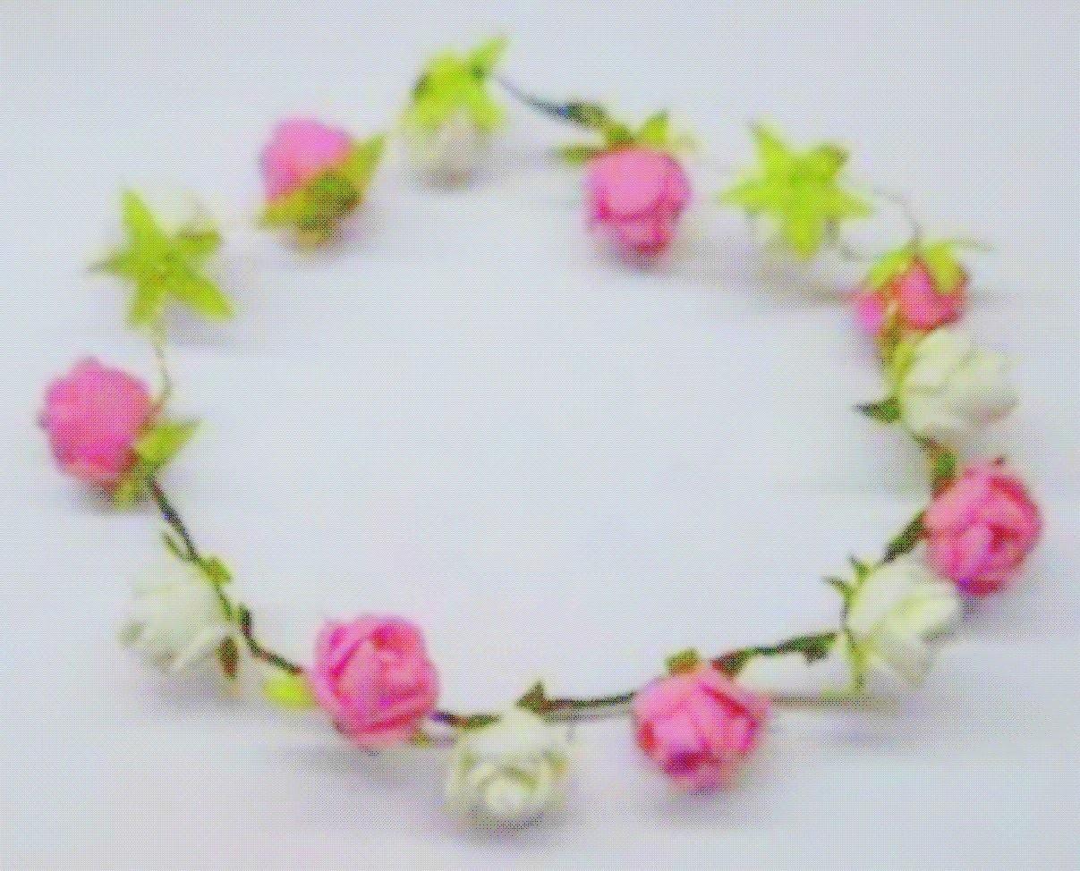 How to make Rose Tiara. headband