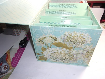 How to Organize Your Greeting Cards and Craft Projects