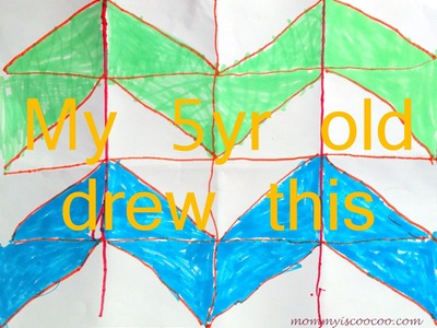 How to paint a chevron stripe -EASY to understand tutorial
