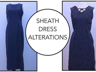 How to sew a Dress | Alterations