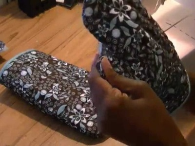 How To Sew An Oven Mitt