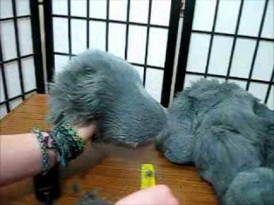 How to Shave Fake Fur