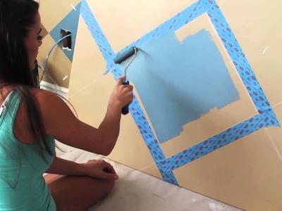 Jessica Sutton teaches you how to paint an argyle design