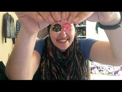 Knitting Expat - Episode 57 - Doughnuts For Eyes & A Yarny Hug!!!