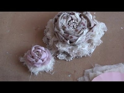 Large Flower Tutorial Part 1