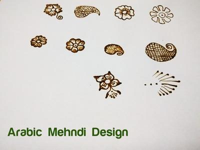 Learn Arabic Design Mehndi (Henna) Step by Step - 1. Basic Shapes & Curves