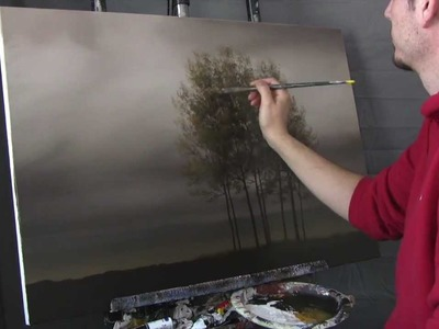 Left Behind - Time Lapse Speed Painting by Tim Gagnon www.timgagnonstudio.com