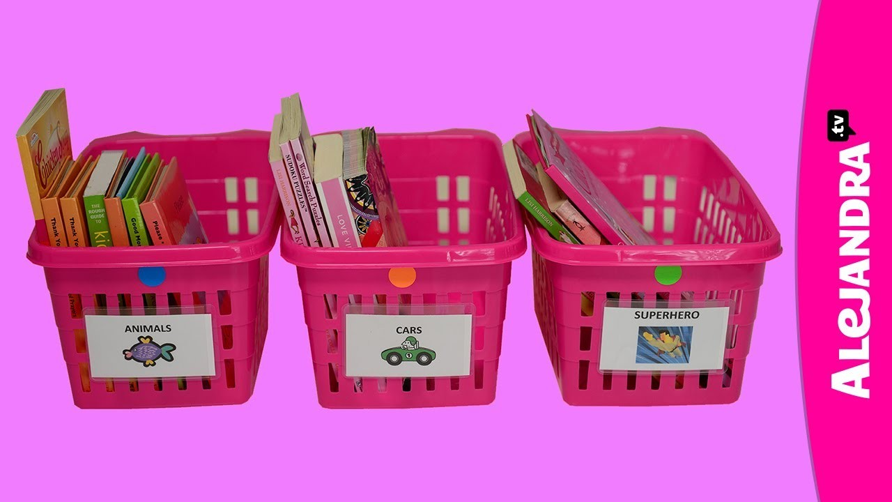 Organizing for Kids: How to Teach Kids Where Things Belong
