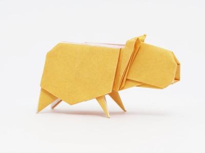 Origami Capybara (Jo Nakashima)