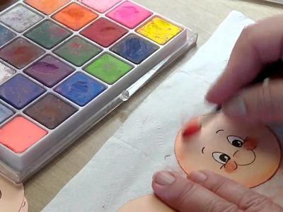 Peachy Keen Face Painting Tutorial