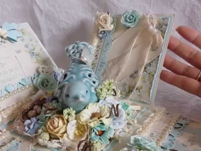 Pion Papers Shabby Chic Explosion Box