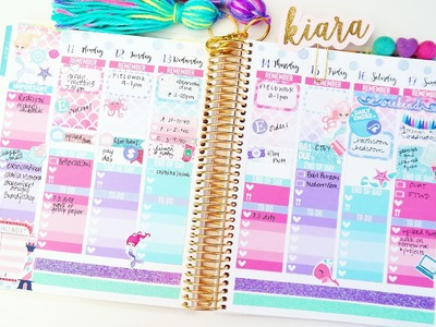 Plan with Me: Under the Sea ♥ Week 16