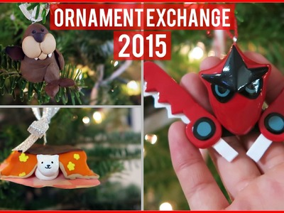 PokeRanger, Cats, Walruses Oh My! || Polymer Clay Ornaments 2015