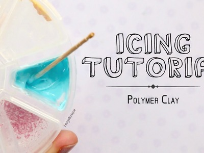 Polymer Clay Frosting Tutorial | Beginner Clay Basics