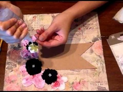 Romance Novel layout with Marion Smith on Live with Prima