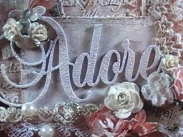 "Shabby Chic ""Adore"" Mini Album"
