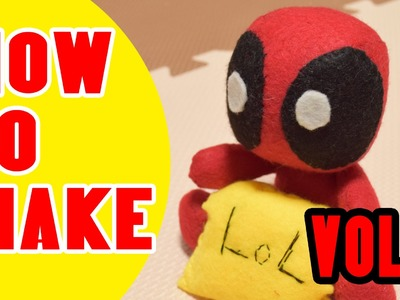 [SOFT TOY]HOW TO MAKE DEADPOOL SOFT TOY VOL.2