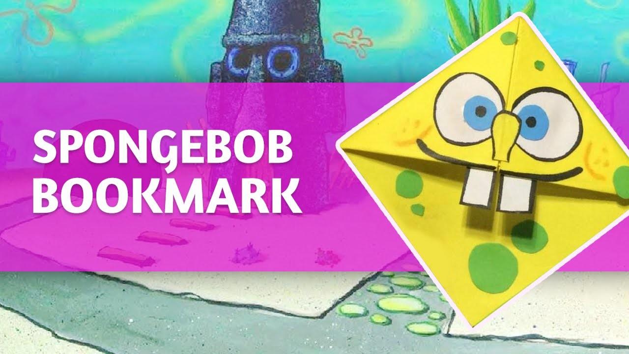 [Time-Lapse] - DIY  Spongebob Bookmark  CornerTutorial