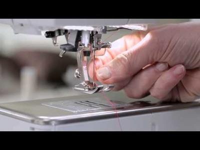 Tutorial on the BERNINA 720, 740 and 770 QE: First steps
