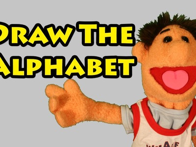 Vids4kids.tv - Draw The Alphabet With Timmy Uppet